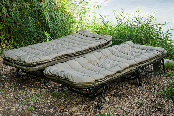 Sonik SK-TEK Levelbed Bedchair Pillow NEW SK-TEK 5 Season Sleeping Bag
