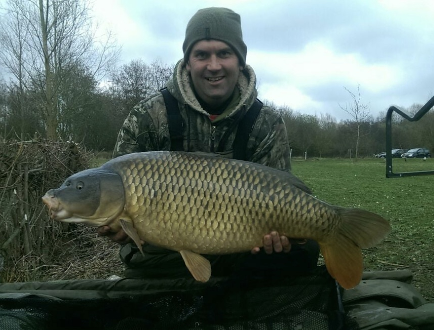 Luke Battens with a 27lb 15oz common from Winters.