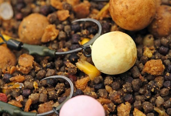 Add Your Own Braid Carp fishing krank with rig ring Ronnie Rig Hook Section